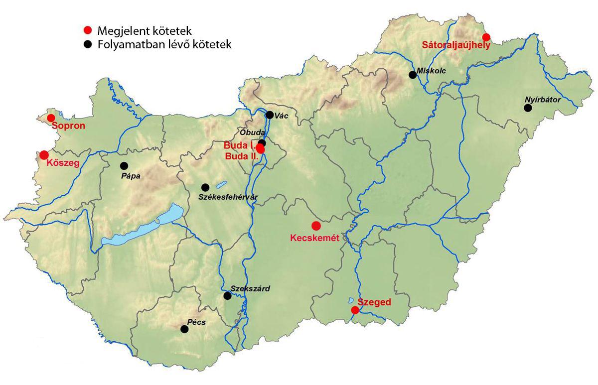 A Sorozatrol Magyar Varostorteneti Atlasz